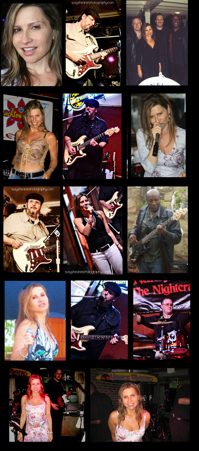 rock and blues band los angeles